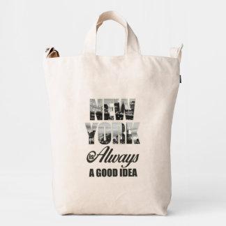 New York is Always a Good Idea Duck Bag