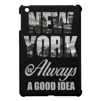New York is Always a Good Idea iPad Mini Covers