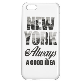New York is Always a Good Idea iPhone 5C Case