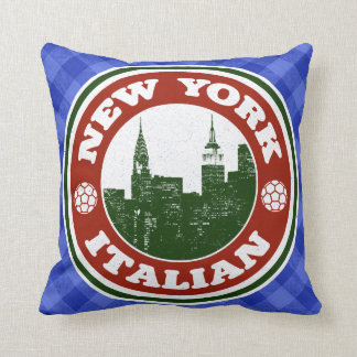 New York Italian American Cushions