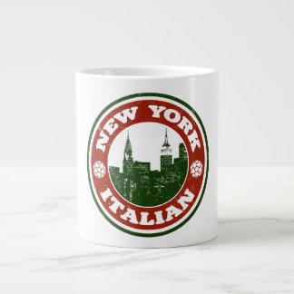 New York Italian American Giant Coffee Mug