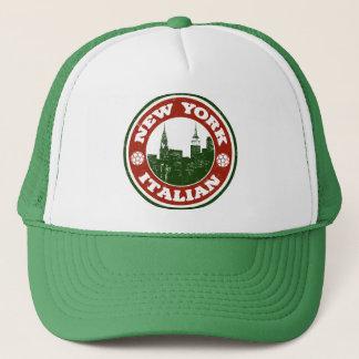 New York Italian American Trucker Hat