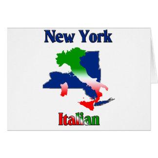 New York Italian Card
