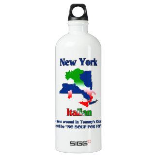 New York Italian custom Aluminum Water Bottle
