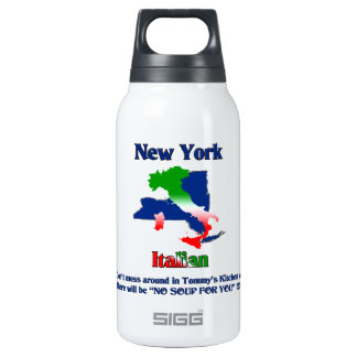 New York Italian custom Thermos Bottle