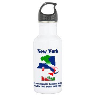 New York Italian custom Water Bottle