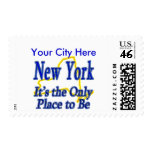 New York  It's the Only Place to Be Stamp