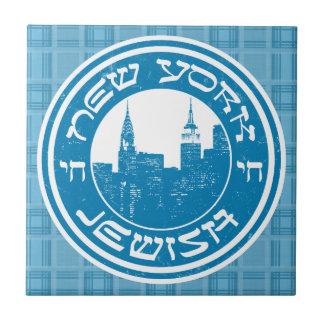 New York Jewish Ceramic Tile