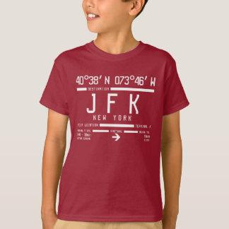 New York JFK International Airport Code Kids T-Shirt