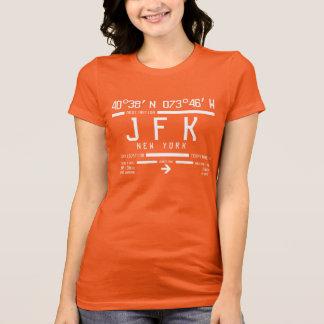 New York JFK International Airport Code T-Shirt