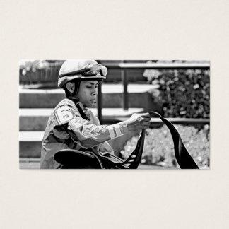 "New York Jockey ""Manuel Franco"" Business Card"