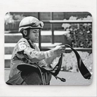 "New York Jockey ""Manuel Franco"" Mouse Pads"