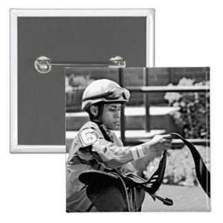 "New York Jockey ""Manuel Franco"" Pin"