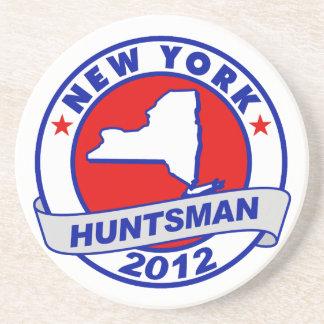 New York Jon Huntsman Coaster