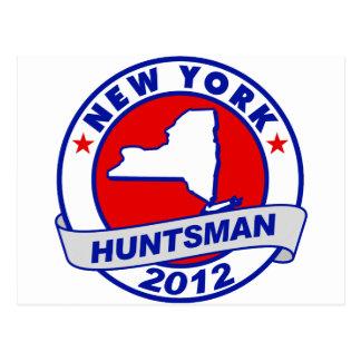 New York Jon Huntsman Postcard