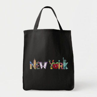 New York Jumbo Tote Bags