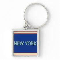 New York Keychain