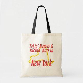 New York - Kickin' Butt Budget Tote Bag