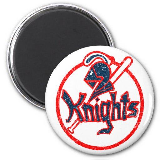 New York Knights 2 Inch Round Magnet