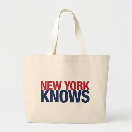 New York Knows Tote Bags