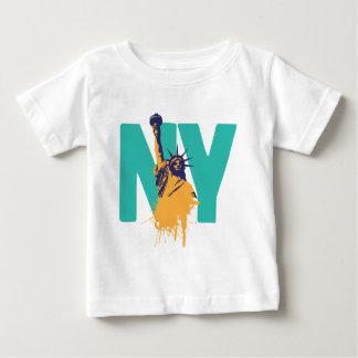 New York Lady Liberty Baby T-Shirt