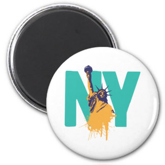 New York Lady Liberty Magnet