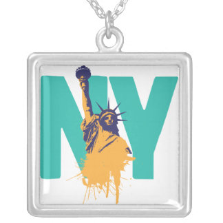 New York Lady Liberty Necklace