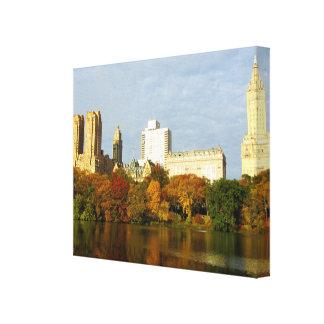 New York Lake Canvas Print