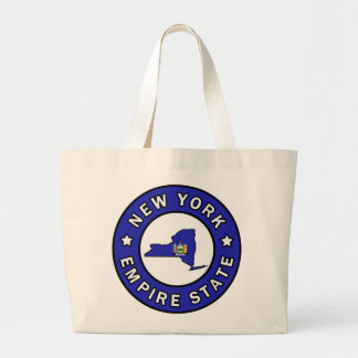 New York Large Tote Bag