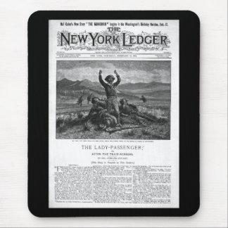 New York Ledger 1894 Mouse Pads