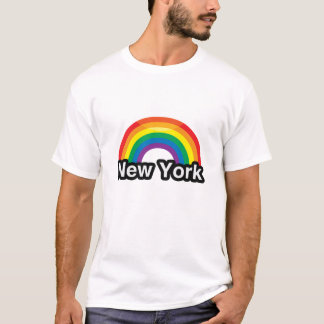 NEW YORK LGBT PRIDE RAINBOW -.png T-Shirt