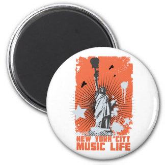 new york liberty music life magnets