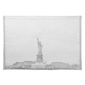 New York Liberty Sketch Place Mats