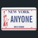 """New York License Plate (personalized) Magnet<br><div class=""""desc"""">New York License Plate (personalized)</div>"""