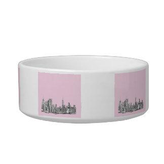 New York light pink Bowl
