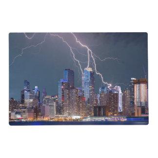 New York Lightning Storm Placemat