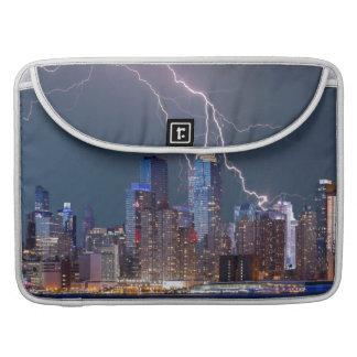 New York Lightning Storm Sleeve For MacBook Pro