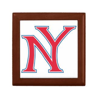 New York Logo Trinket Boxes