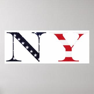 New York Logo Poster Print