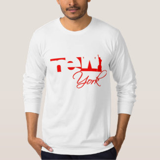 New York logo (RED) T-Shirt