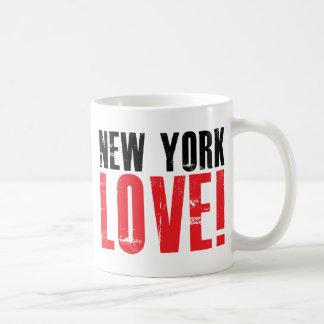 New York Love Classic White Coffee Mug