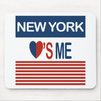 New York Loves Me Mouse Pad