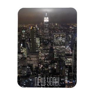 New York Magnet NY City Lights NY Skyline Souvenir