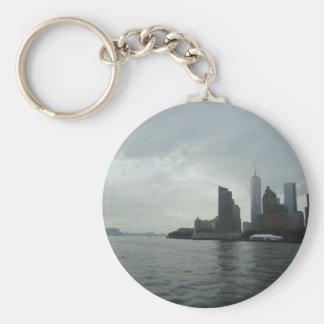 New York Manhattan Hudson River Gift Keychain