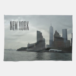 New York Manhattan Hudson River Gift Towels
