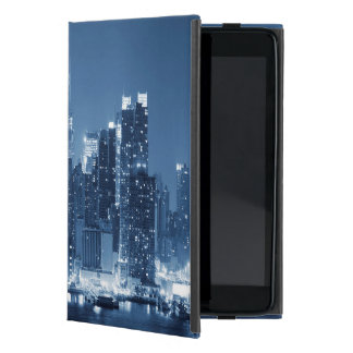 New-York Manhattan Panoramic Night Skyline iPad Mini Cover