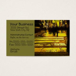 New York Manhattan Photgraphy Artistic Business Ca Business Card