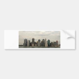 New York - Manhatten from Brooklyn Bumper Sticker