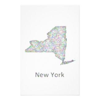 "New York map 5.5"" X 8.5"" Flyer"