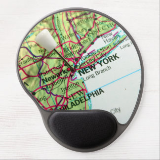 New York Map Gel Mouse Pad